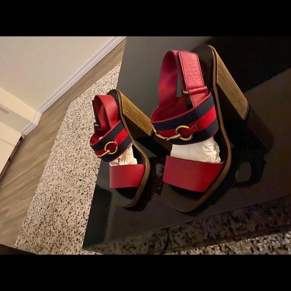 Authentic Gucci Horsebit Heels